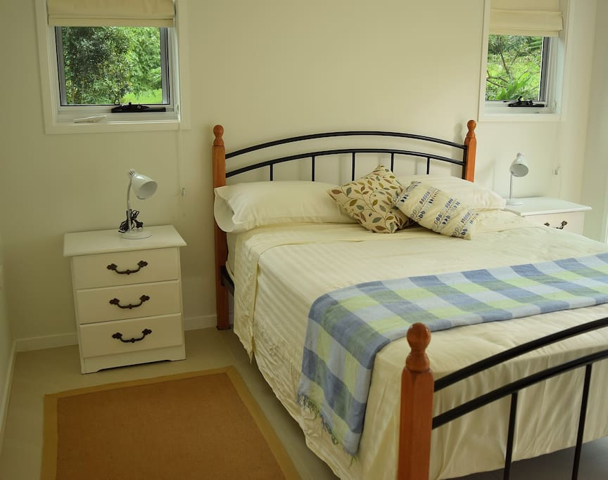 airconditioned bedroom