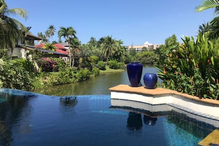 Quiet 2BR Apart. Direct Pool Access Surin Beach