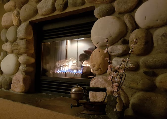 After a big day of adventure, curl up in front of the fire with a good book or your favorite movie.