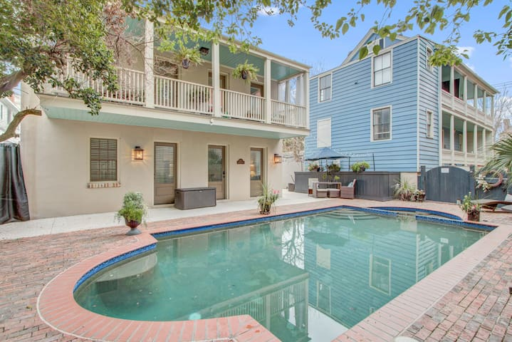 Conveniently located with private pool!