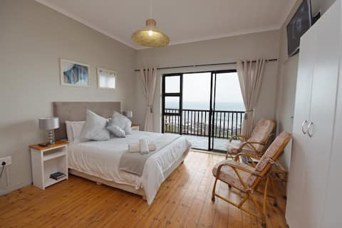 Mitford Hotel, double sea facing suite