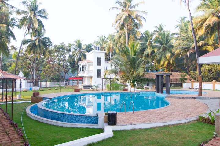 GOAgaga-Near Club Cabana/Baga beach in New Complex - Arpora - Huoneisto