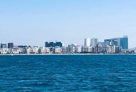 Haut standing appartement vue sur mer