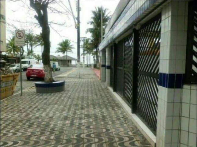 Pé na areia, vila caiçara-PG 1 dorm - praia grande - Apartment