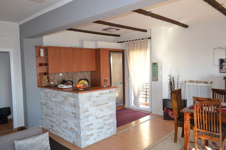 Amazing sea view apartment in the city center! - Alexandroupoli - Appartement