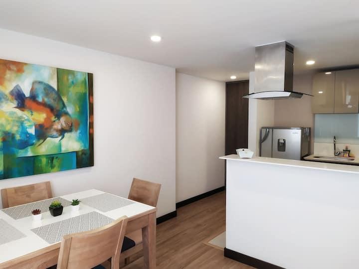 Un espacio único con calor de hogar.