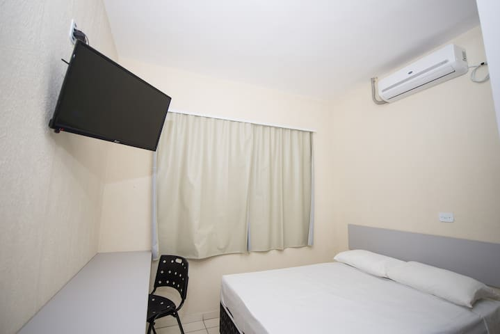Suite for 02 people in Foz do Iguaçu center