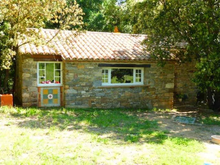 Cottage en pleine nature