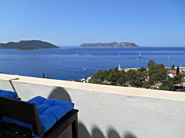 A Superb 2 Bedroom Apartment in Kaş. - Kaş - Wohnung