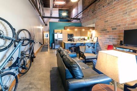 New, Urban, Loft-Style Downtown Apartment