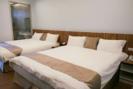 星海森活四人房 - Xincheng Township - Boutique-hotelli