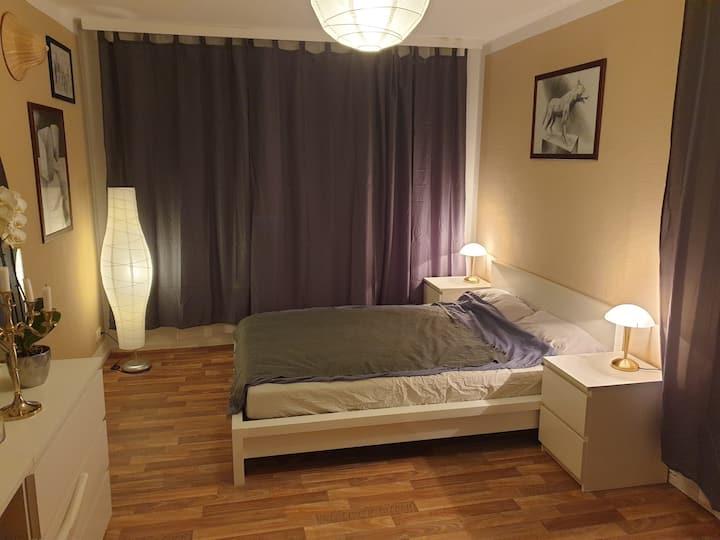 1-Zimmer Wohnung für Messe-Gäste