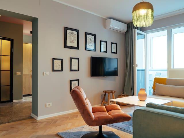 ParkLake Design Apartment★ Fabulous View ★ Netflix