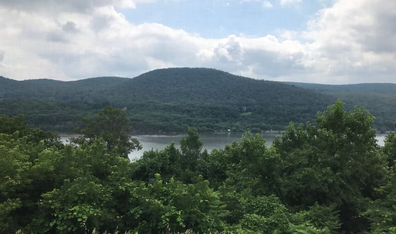 Near West Point with Hudson River Views