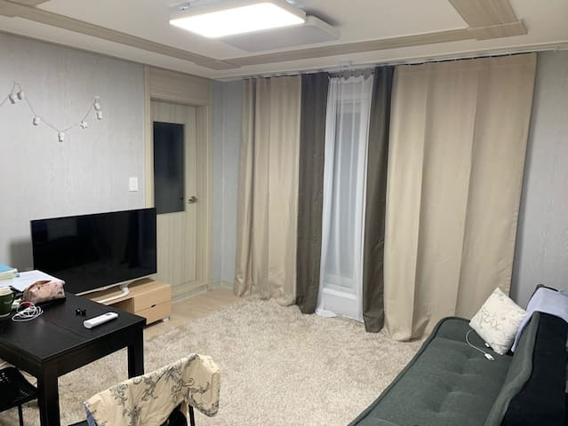 Lovely two-room villa near Moran station