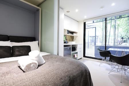 Compact Studio Apt Near Vic Mart + Free WiFi - Melbourne - Apartment