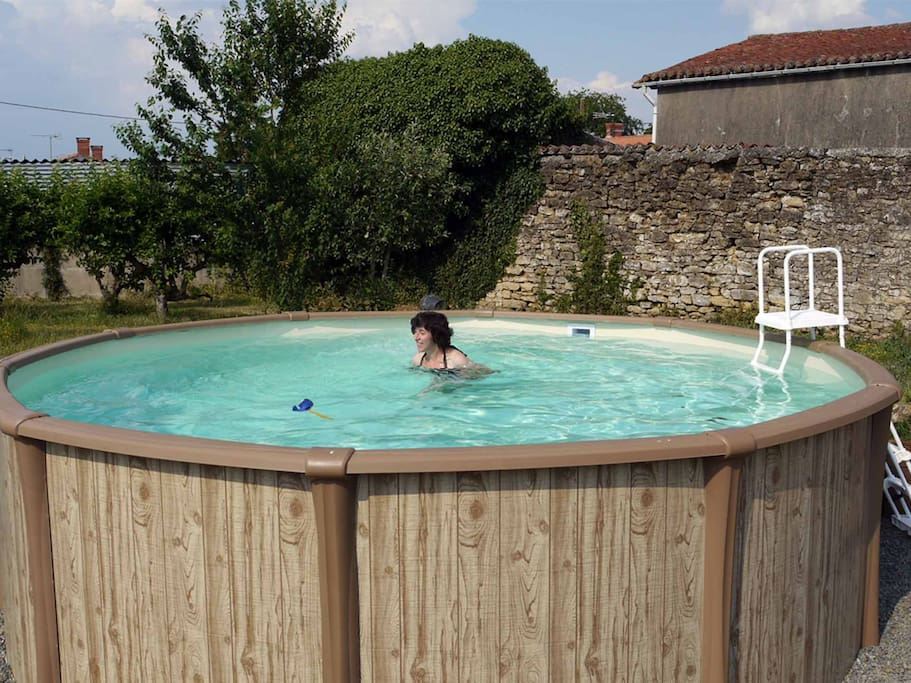 The Heated Pool at La Maison du Soleil