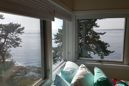 2BR Oceanfront Suite in Phippsburg, Casco Bay View