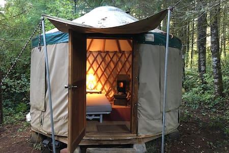 Yurt & RV in Quiet Country Setting - Noti
