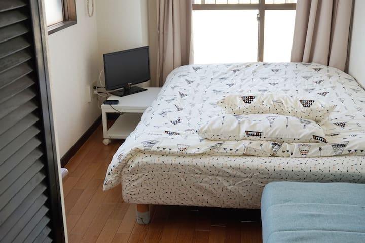 15* Cozy Studio 950m Hiroshima Sta Miyajima Peace