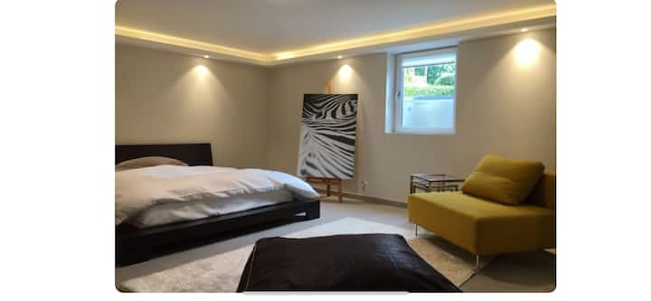 Fab's modern apartment