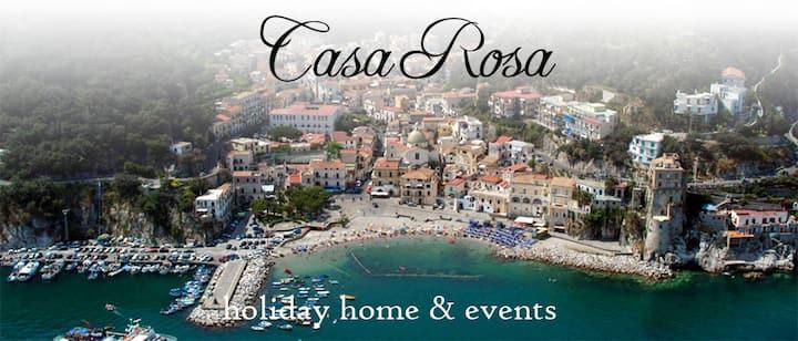 """""""Casa Rosa"""" Casa con giardino  a 300 mt. dal mare"""