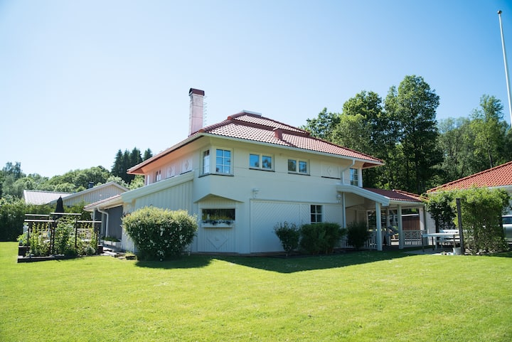 Beautiful house, only 15 min from Gothenburg.