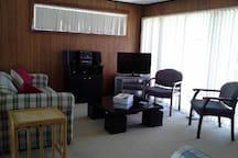 Upstairs Lounge + Foxtel TV