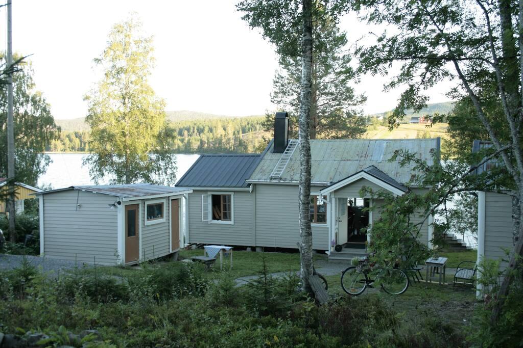 Välkommen till stugan i Skulnäs