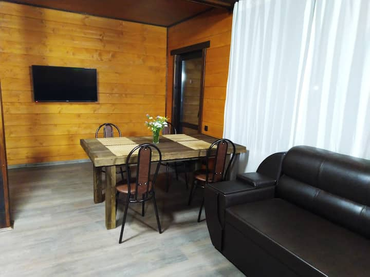 Двухэтажный коттедж в ЭКОПАРКЕ Fish Place