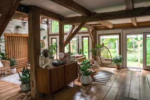 The Hunter Barnhouse - Ski House Close To Hunter