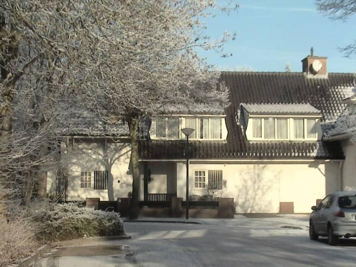 Prachtige woning in oud Engelse stijl voor 10 pers