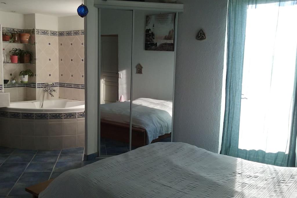Grande chambre 2 4 pers avec terrasse maisons louer - Location maison ales ...