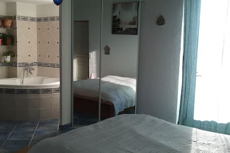 Grande chambre 2 à 4 pers avec terrasse - 알레스 - 단독주택
