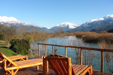 Lujosa y exclusiva casa-costa de rio-Patagonia.