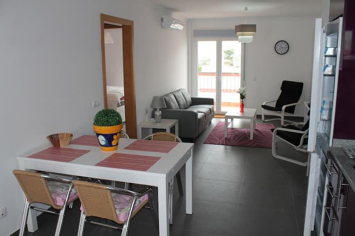 Appartment 4p. with pool Vila Real Sto Antonio