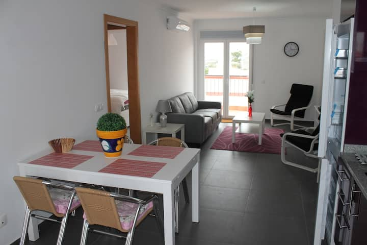 Appartment 4p. with pool Vila Real Sto Antonio