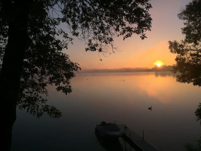 Sundays on Cedar Lake