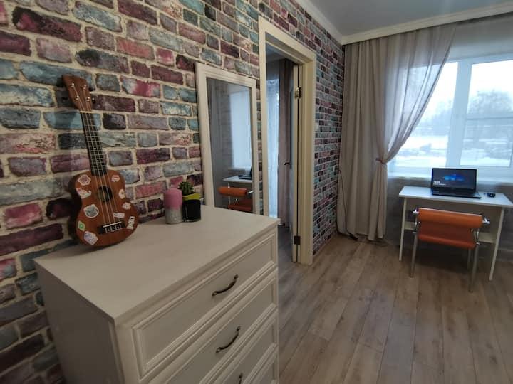 Двухкомнатная квартира в самом центре Калининграда