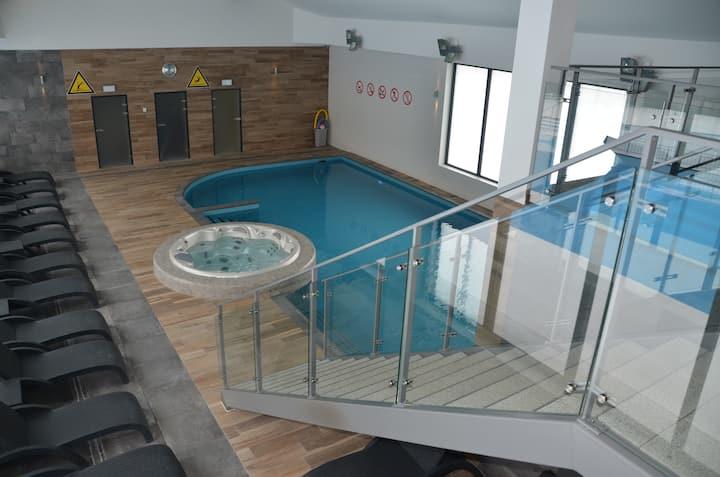 Feniks Spa Apartament SOLEIL z basenem i sauną