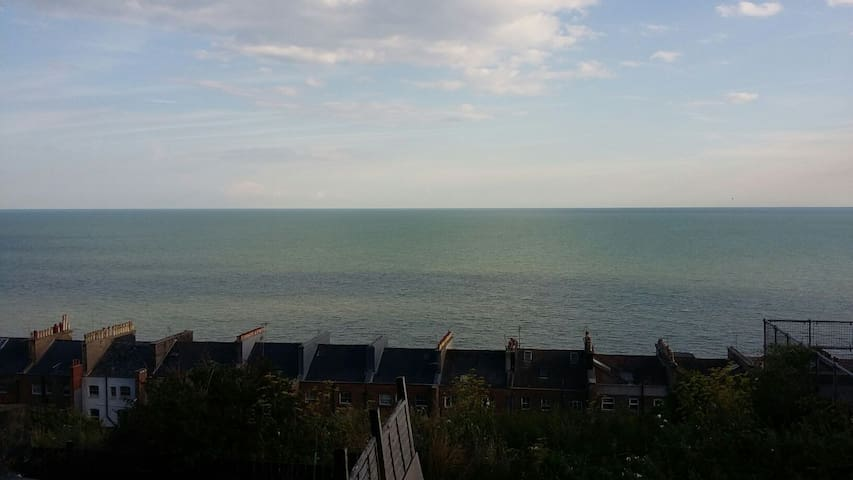 Stunning sea views in beautiful Saint Leonard's.