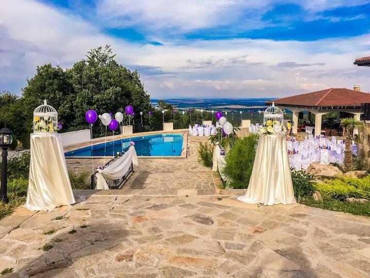 Gorgeous Mountain Villa With Swimming Pool
