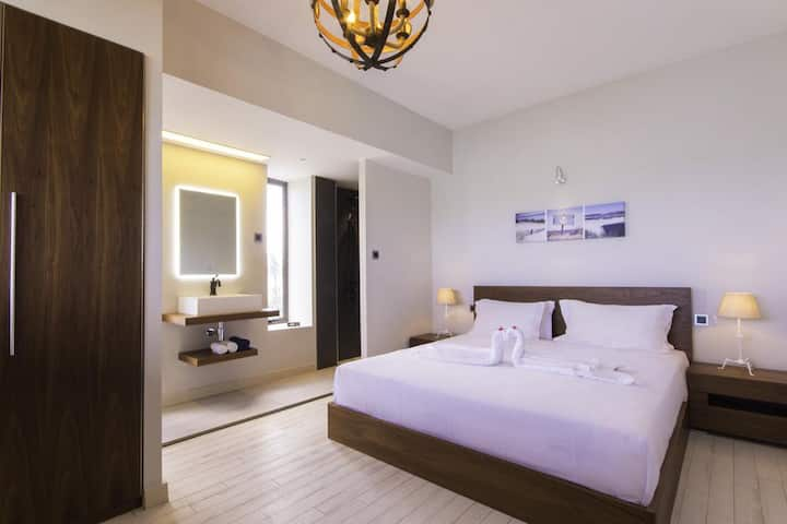 Deluxe 2 People BedRoom & Breakfast in 3 ★ Azure Beach Boutique Hotel