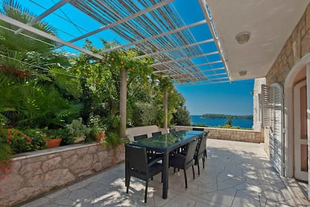 villa with pool unforgettable view - Lozica