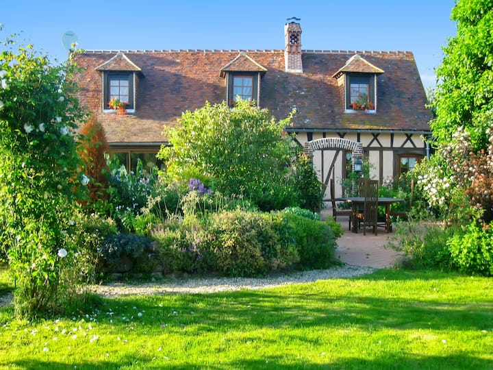 House with 3 bedrooms in Chéronvilliers, with enclosed garden and WiFi