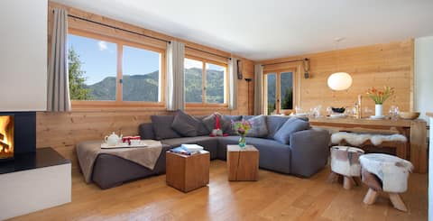 Ski in/out & Summer Super Spacious 2 bed 2 bathrm