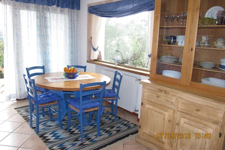 the blue house - San Pantaleo - Daire