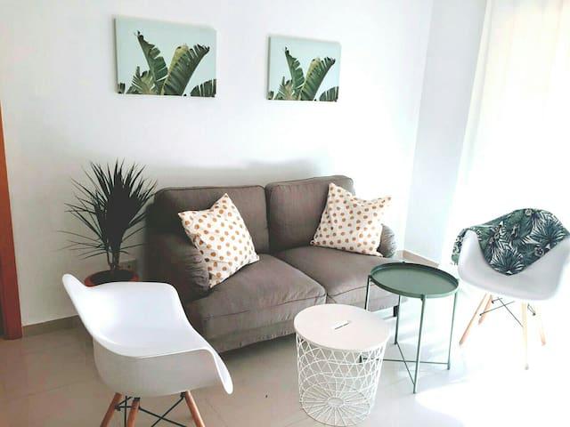 Precioso y actual apartamento en la Costa