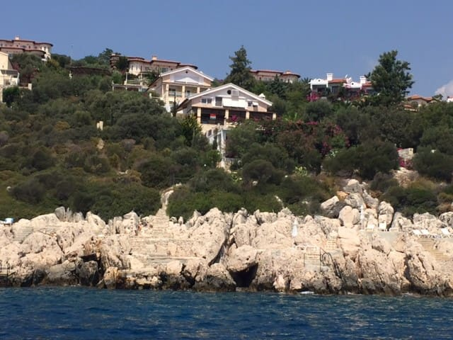 Coast's Edge- Villa Escalade-Large-Private-Pool - Kaş - House