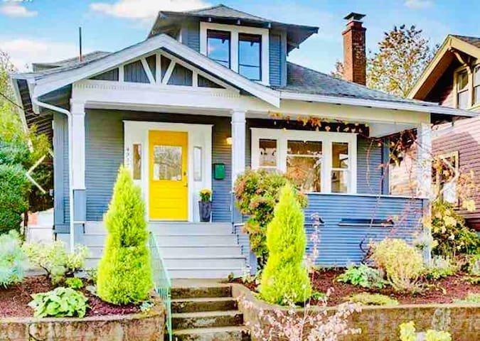 The Home With The Yellow Door/Alberta Arts